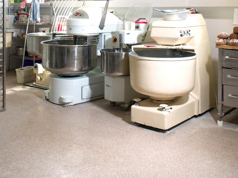 HACCP Vloer machines