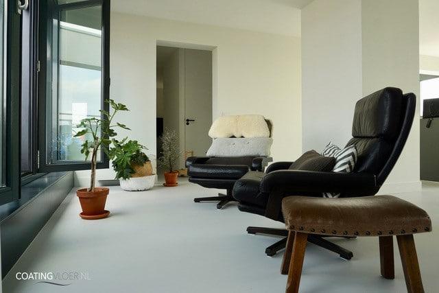 gietvloer appartement Zaandam