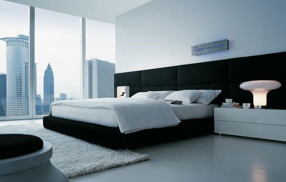 Slaapkamer gietvloer luxe appartement