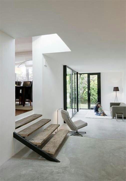 Verschil tussen betonnen vloer en woonbeton