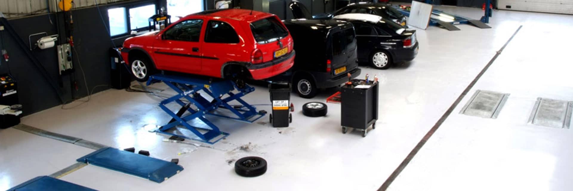 Gietvloer garage