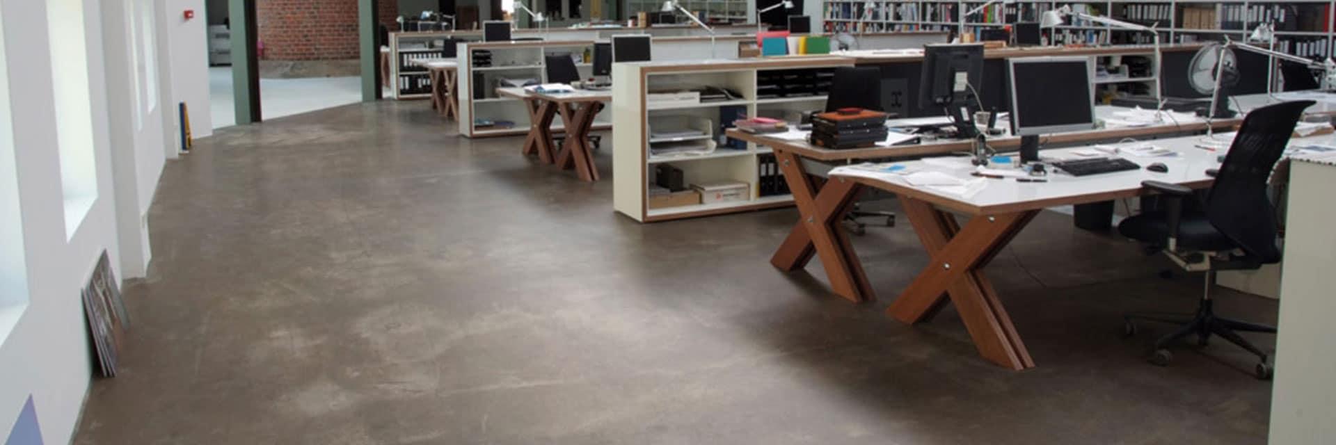 Transparante coatingvloer