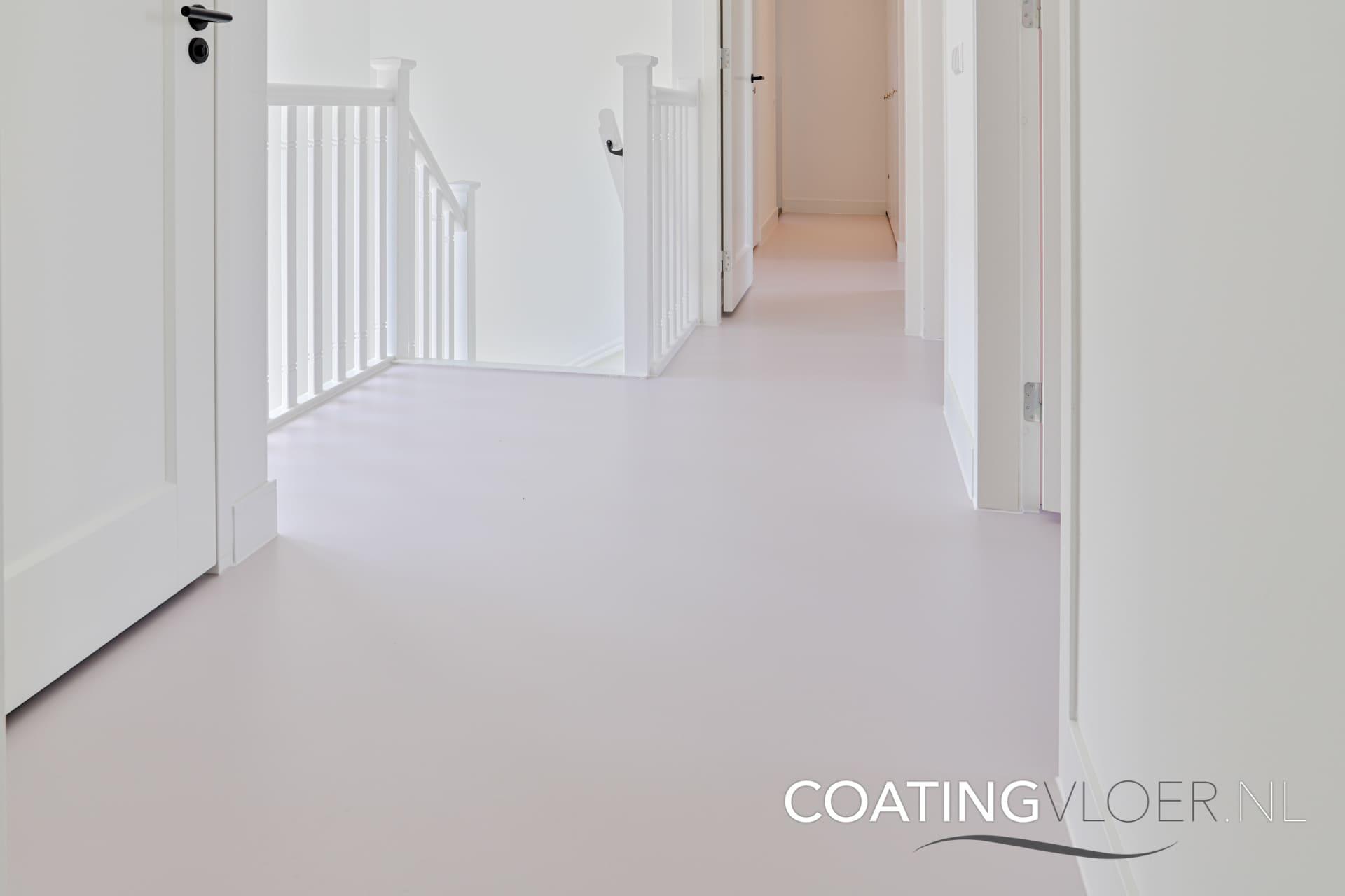 Gietvloer op zolder: strak en verfijnd
