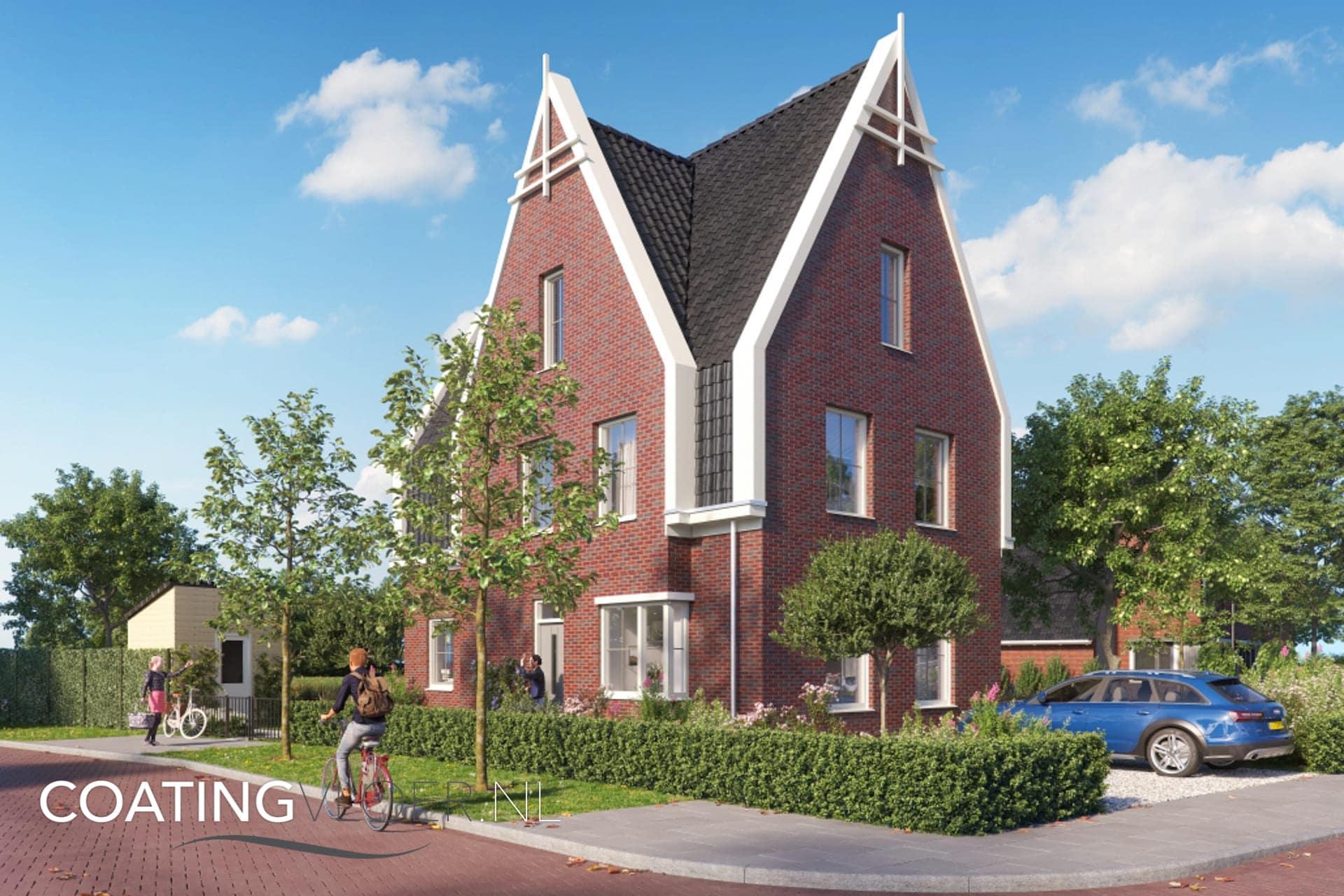 Gietvloer in nieuwbouwwijk Westend Utrecht